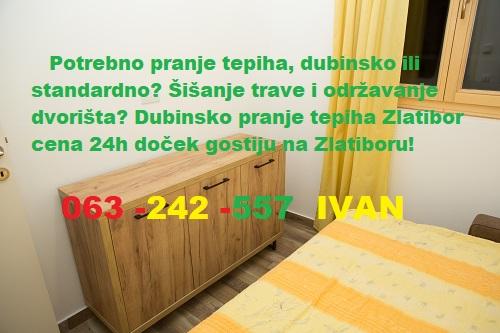 Dubinsko pranje tepiha Zlatibor cena 24h