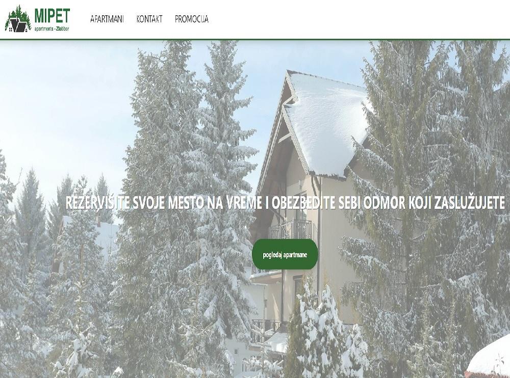 Apartmani MIPET Usluge Zlatibor