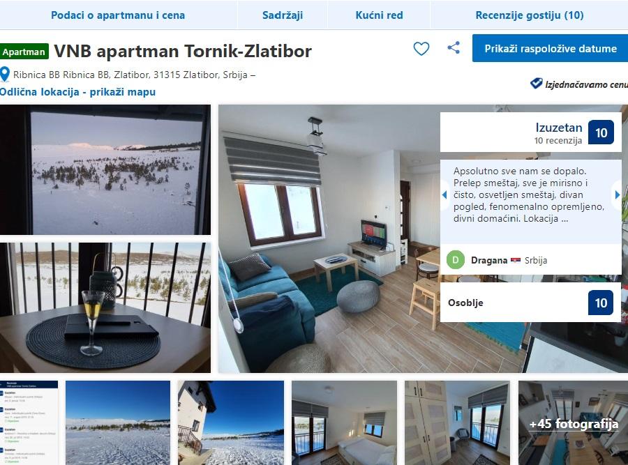 Apartmani VNB Usluge Zlatibor
